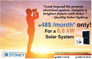 Quality Solar Sydney Offer